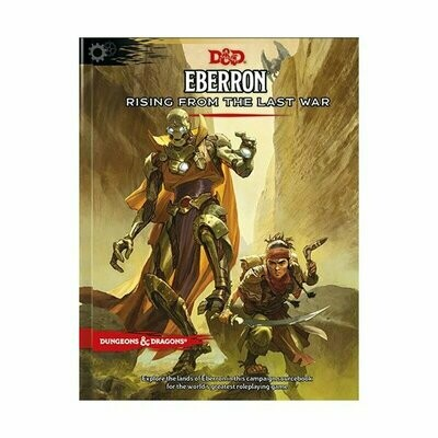 D&D Dungeons&Dragons - Eberron - Rising From The Last War