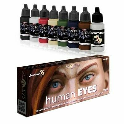 Human Eyes - Scalecolor Paint Set - Blau Farbset - Scale75