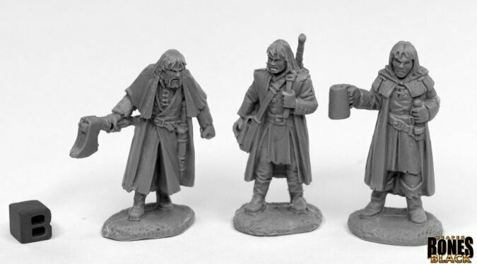 Dreadmere Mercenaries (3) - Reaper Bones