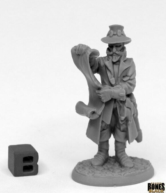 Sheriff Drumfasser - Reaper Bones