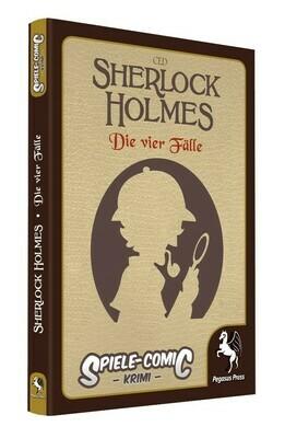 Spiele-Comic Krimi: Sherlock Holmes - Die vier Fälle (Hardcover) - Pegasus Press