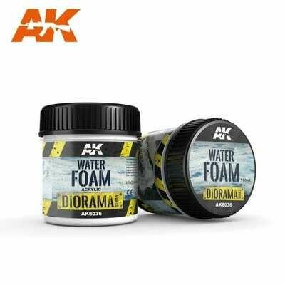 Water Foam (Acrylic) - 100ml - AK Interactive