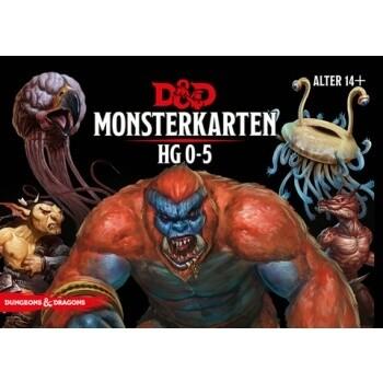 Dungeons & Dragons - Monster Deck 0-5 - DE
