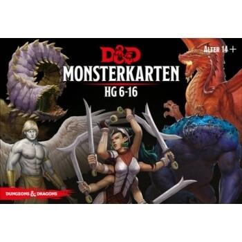 Dungeons & Dragons - Monster Deck 6-16 - DE
