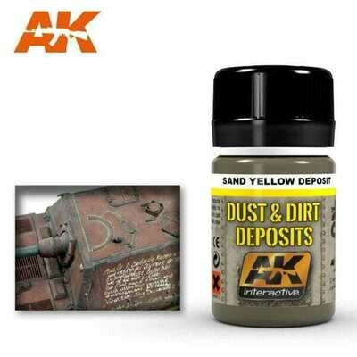 Sand Yellow Deposit (Enamel-Farbe) - AK Interactive