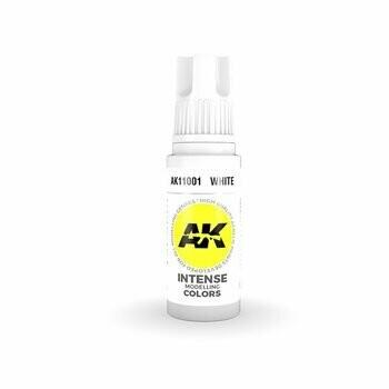 White Intense -(3rd-Generation)-(17mL) - AK Interactive