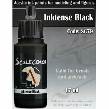 Inktense Black - Scalecolor INK - Scale75