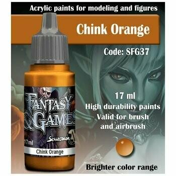 Chink Orange - Scalecolor - Scale75
