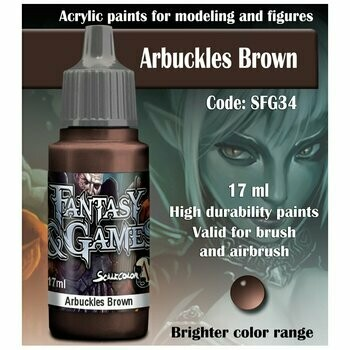 Arbuckles Brown - Scalecolor - Scale75