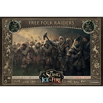 A Song Of Ice And Fire - Free Folk Raiders - EN