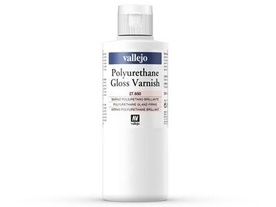 Vallejo 27650 Polyurethane Gloss Varnish (200ml) - Vallejo - Farben