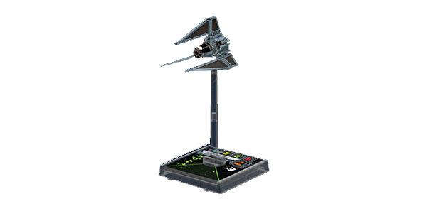 Star Wars: X-Wing Miniaturen-Spiel - TIE-Phantom Erweiterung-Pack Deutsch 0050014015566020818