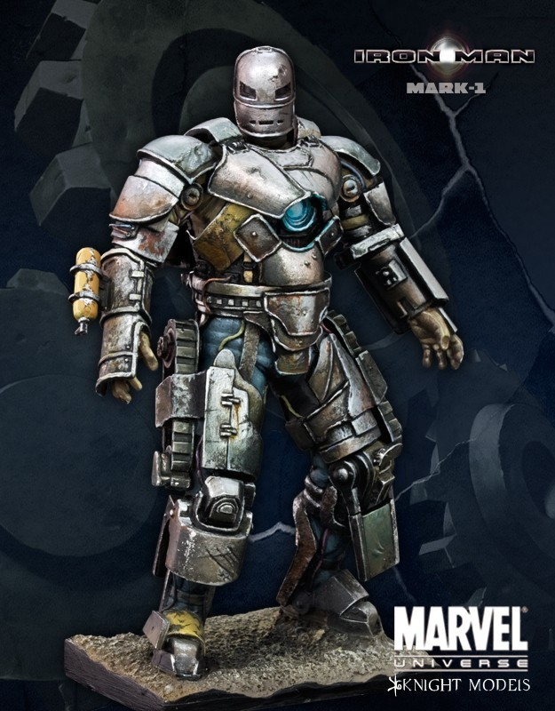 Iron Man MK-1 70mm - Marvel Knights Miniature 70MV003KMV011