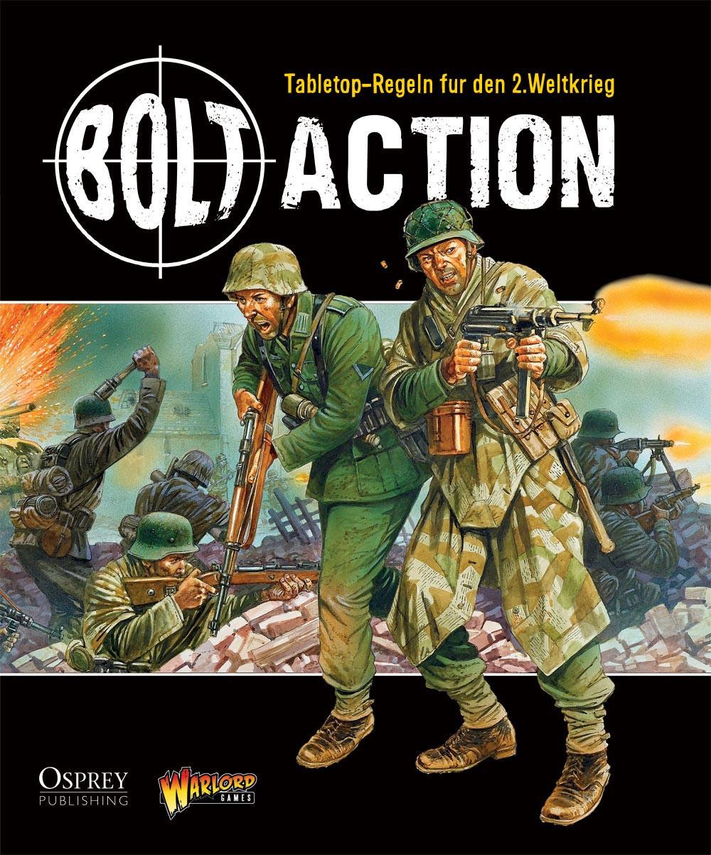 Bolt Action Regelbuch - deutsch 008001WGB-001DE