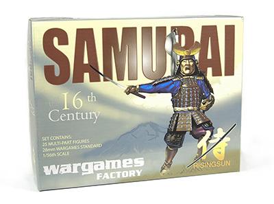 Samurai Warriors - Rising Sun - Wargames Factory