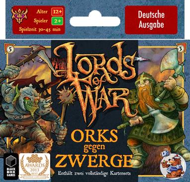Lords of War: Orks gegen Zwerge - Heidelberger Spieleverlag 0100014015566032941