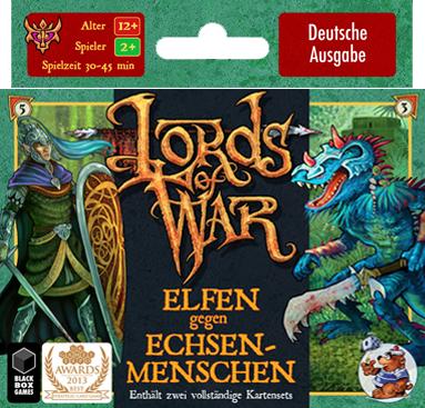 Lords of War: Elfen gegen Echsenmenschen - Heidelberger Spieleverlag