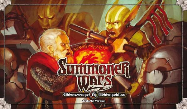 Summoner Wars - Gildenzwerge gegen Höhlengoblins - Uhrwerk Verlag 014001UWV10000