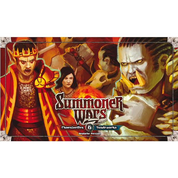 Summoner Wars - Phoenixelfen gegen Tundraorks - Uhrwerk Verlag 014001UWV10001