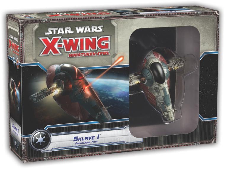 Star Wars: X-Wing Miniaturen-Spiel - Sklave 1 Slave 1 Erweiterung-Pack Deutsch 0050014015566012516