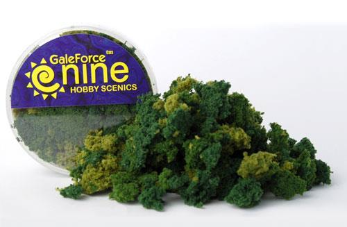 Hobby Round: Summer 3 Color Clump Foliage Mix - Gale Force 9