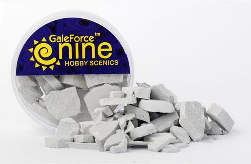 Hobby Round: Concrete Rubble Mix - Gale Force 9 012001GFS025
