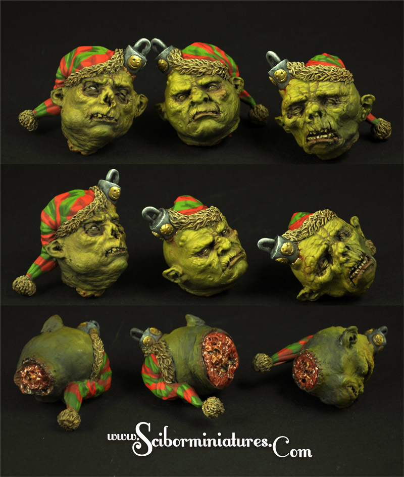 Elves Bulbs set (3 Stk.) - Scibor Miniatures 09000128FM0169