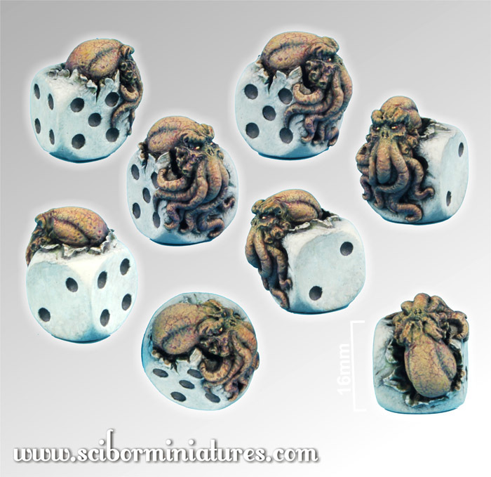 Cthulhu Die - Scibor Miniatures 09000128CM0001
