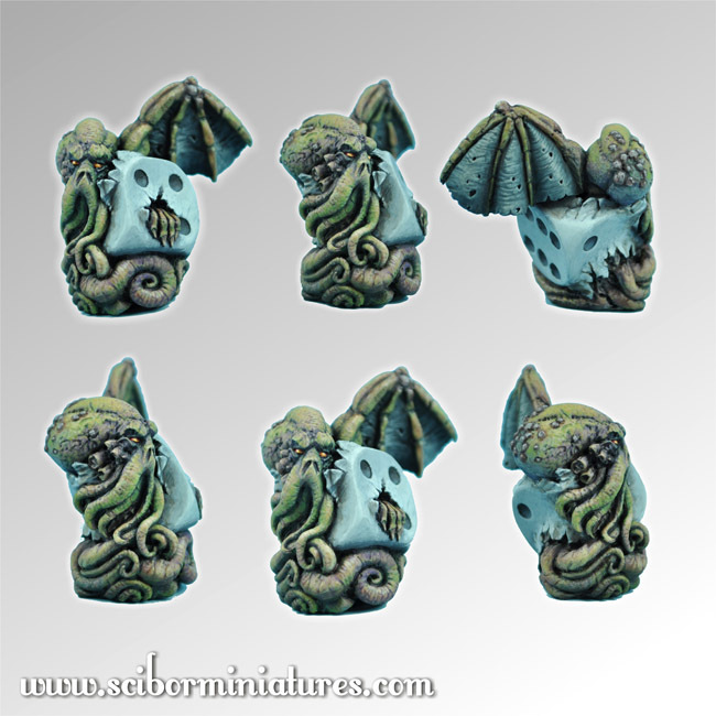 Cthulhu Die #2 - Scibor Miniatures 09000128CM0002