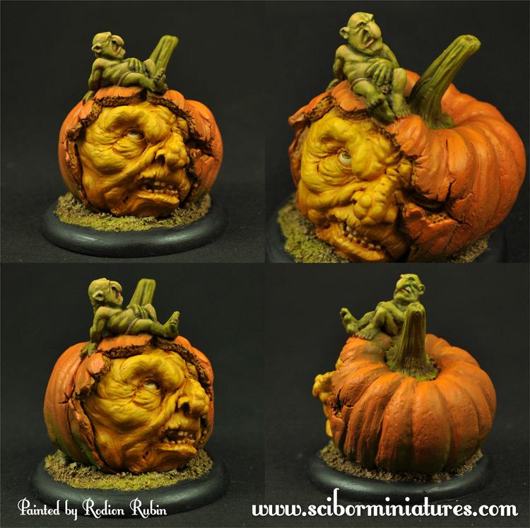 Pumpkin Face - Scibor Miniatures 09000128GB0017