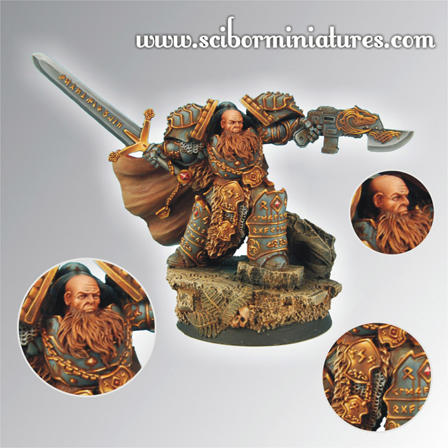 Celtic SF Lord - Scibor Miniatures 09000128SF0032