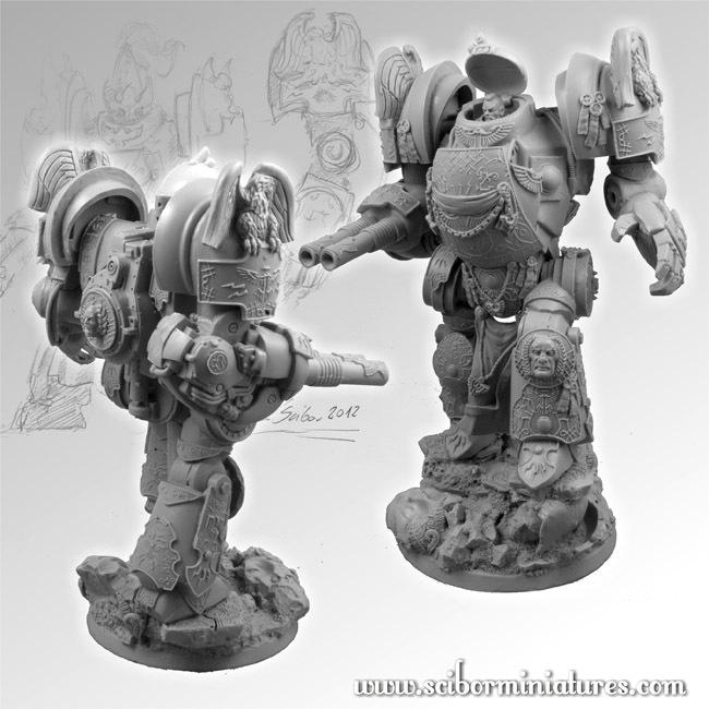 SF Roman Gladiator Mech Suit - Scibor Miniatures