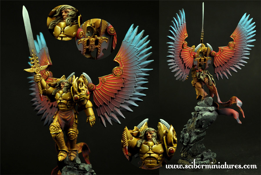 SF Archangel #2 - Scibor Miniatures 09000128SF0098