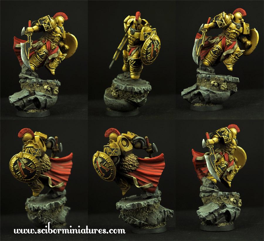 SF Spartan Leonidas - Scibor Miniatures 09000128SF0120