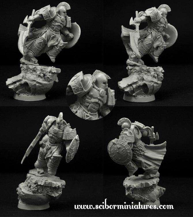 SF Spartan Leonidas - Scibor Miniatures