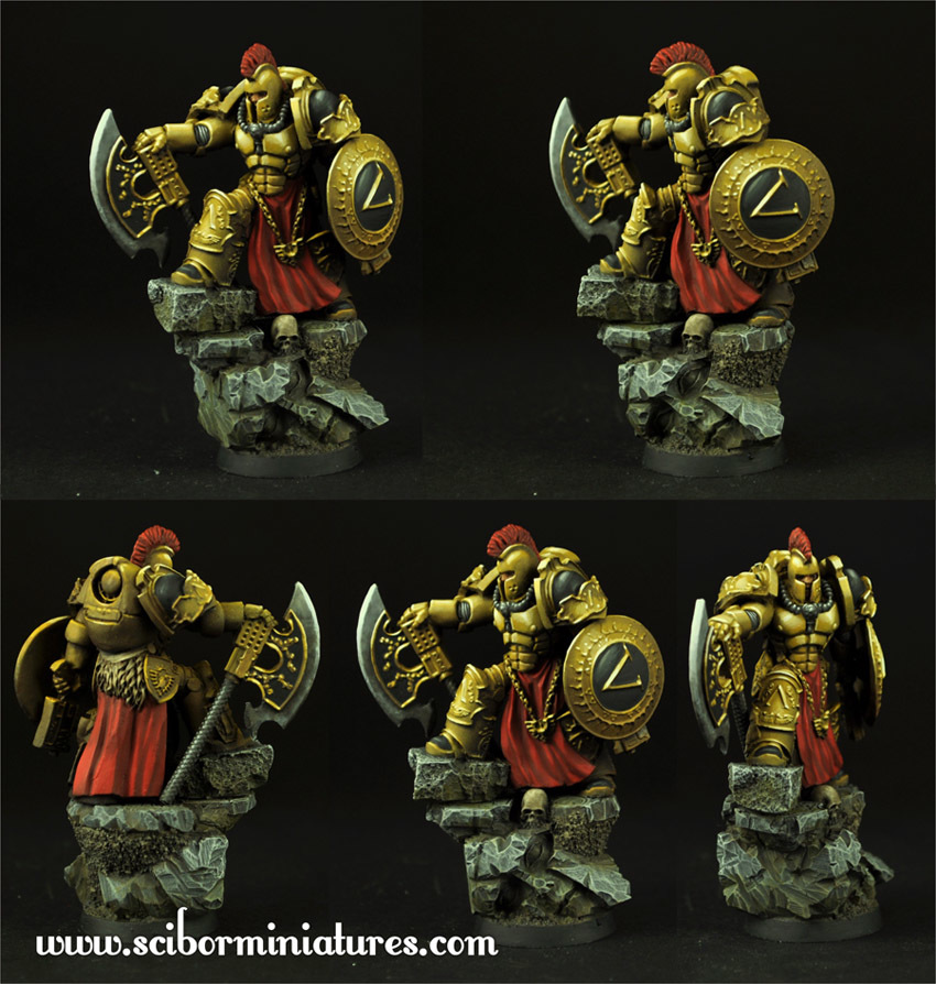SF Spartan General - Scibor Miniatures 09000128SF0121