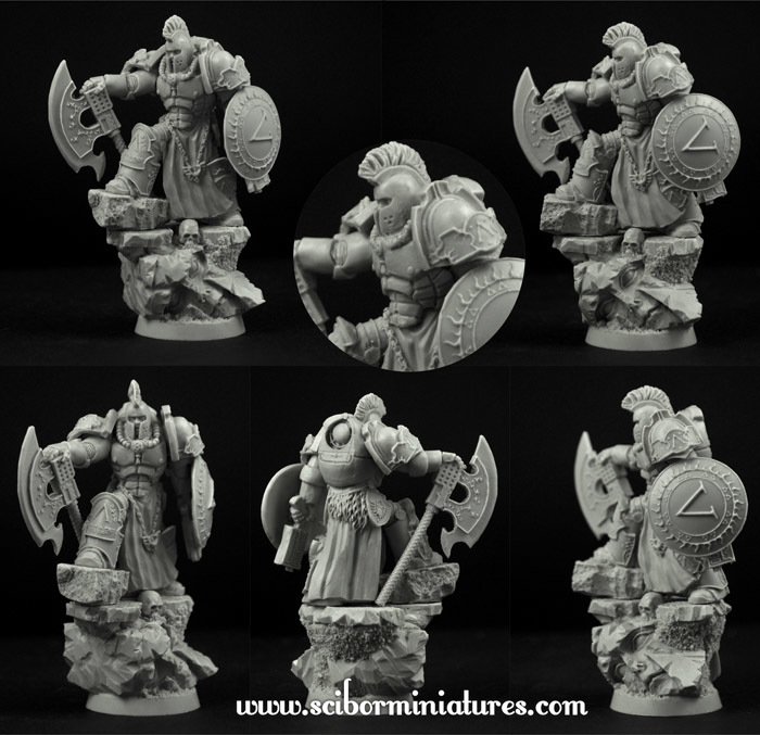 SF Spartan General - Scibor Miniatures