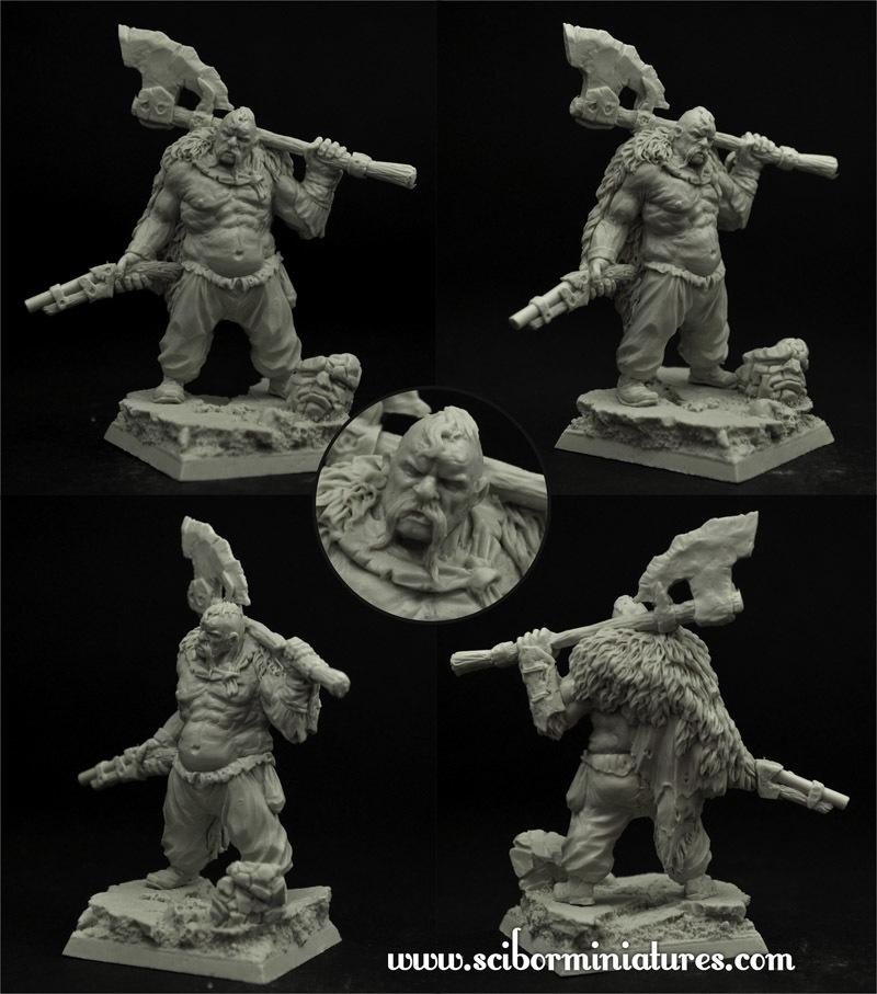 Ogre Cossack Hryhorij - Scibor Miniatures 090001OGSL0009