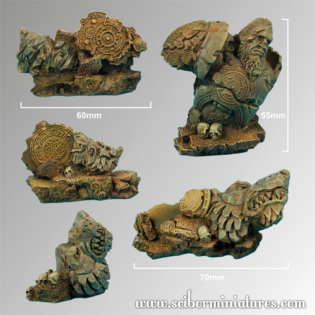 Celtic Ruins Terrain - Scibor Miniatures