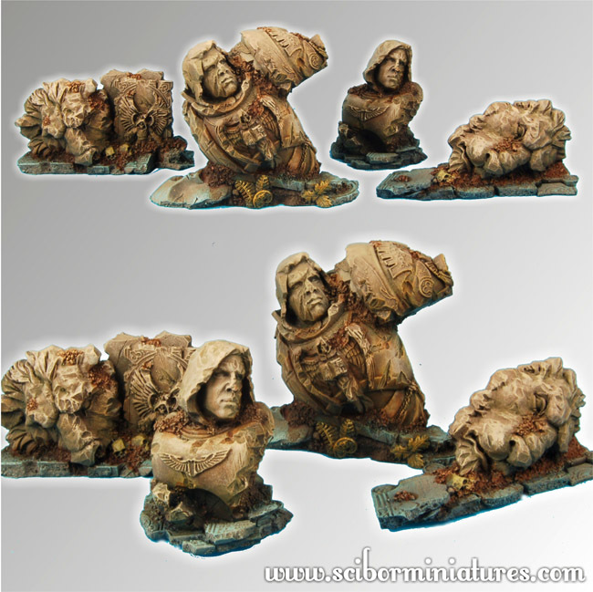Lion Ruins Terrain - Scibor Miniatures 090001TELR0005