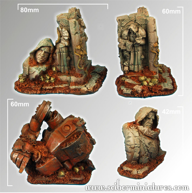 Templar Ruins Terrain - Scibor Miniatures