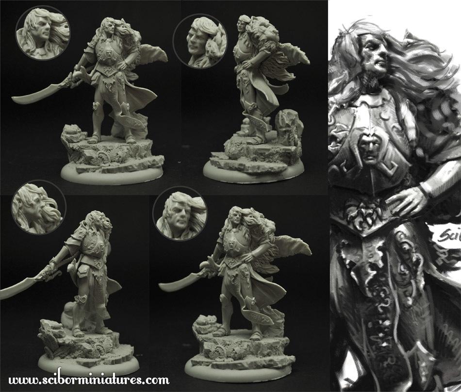 Elf Lord - Scibor Miniatures 09000154FM0022