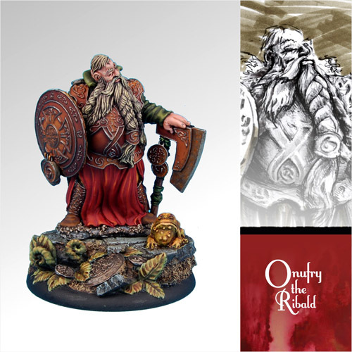 Onufry the Ribald - Scibor Miniatures