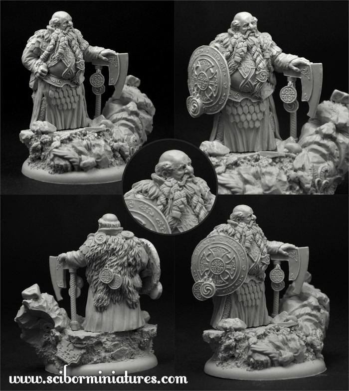 Onufry the Ribald - Scibor Miniatures 09000154FM0025
