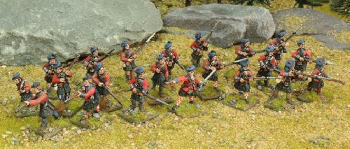 British Highlander Force - Muskets and Tomahawks - North Star Figures 012001MTB04