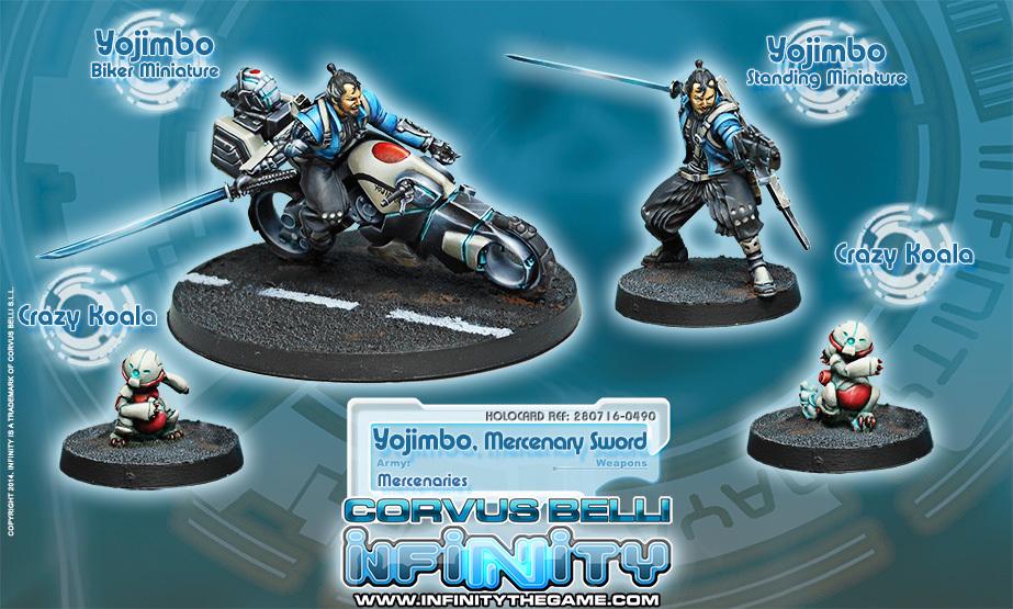 Yojimbo, Mercenary Sword - Mercenaries - Infinity 011003INF280716
