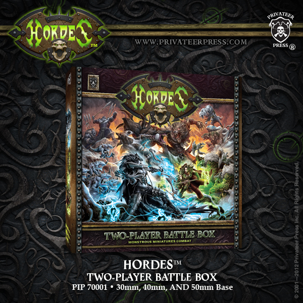Hordes Zweispieler Battle Box (plastic) - Starter - Hordes - Privateer Press 011001PIP70001