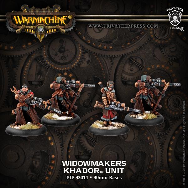 Khador Widowmaker Unit Box Box - Warmachine - Privateer Press 011002PIP33014