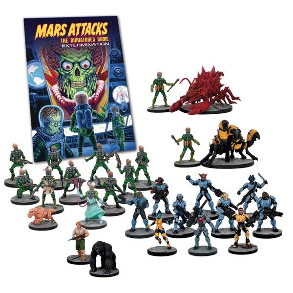Mars Attacks - Extermination - Mantic Games 001001MGMA03