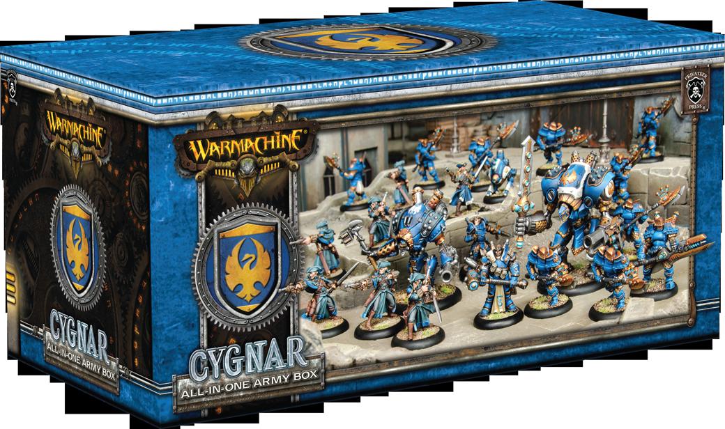 Cygnar All in One Army Box - Warmachine - Privateer Press 011002PIP31119